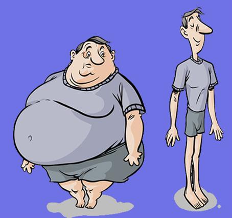 کاهش وزن در دو هفته
