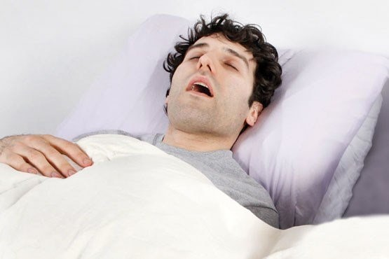 توقف تنفس در خواب: