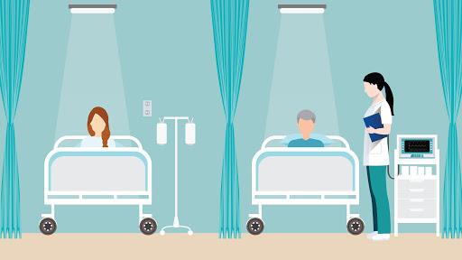 ماندن در بیمارستان به مدت بیشتر