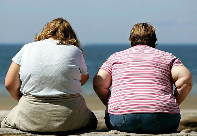 افرادی که شاخص توده بدنی (BMI) آن ها از 30 بیش تر باشد