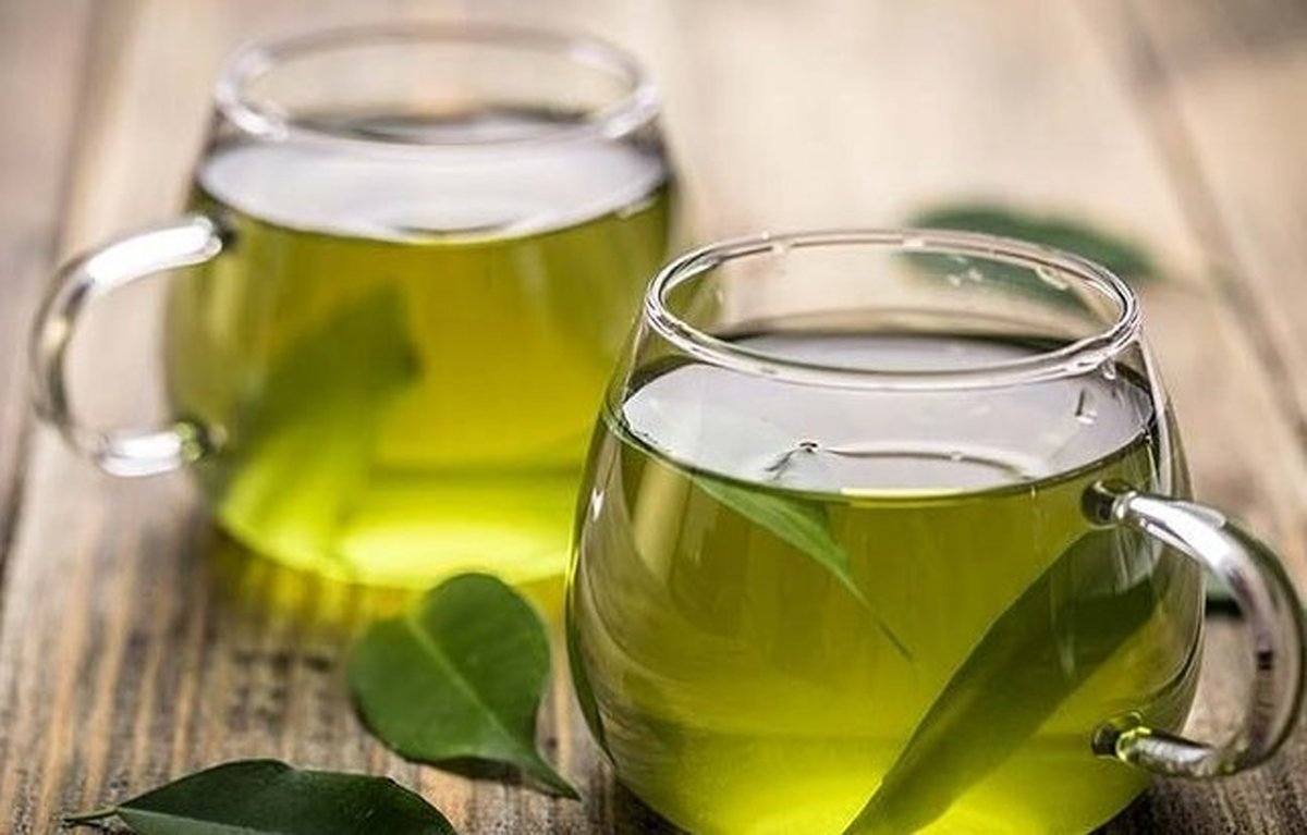 چای سبز بنوشید: