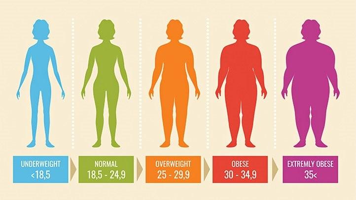 لازم است به مواردی که در زیر به آن اشاره می کنیم نیز به منظور BMI توجه نماید که شامل: