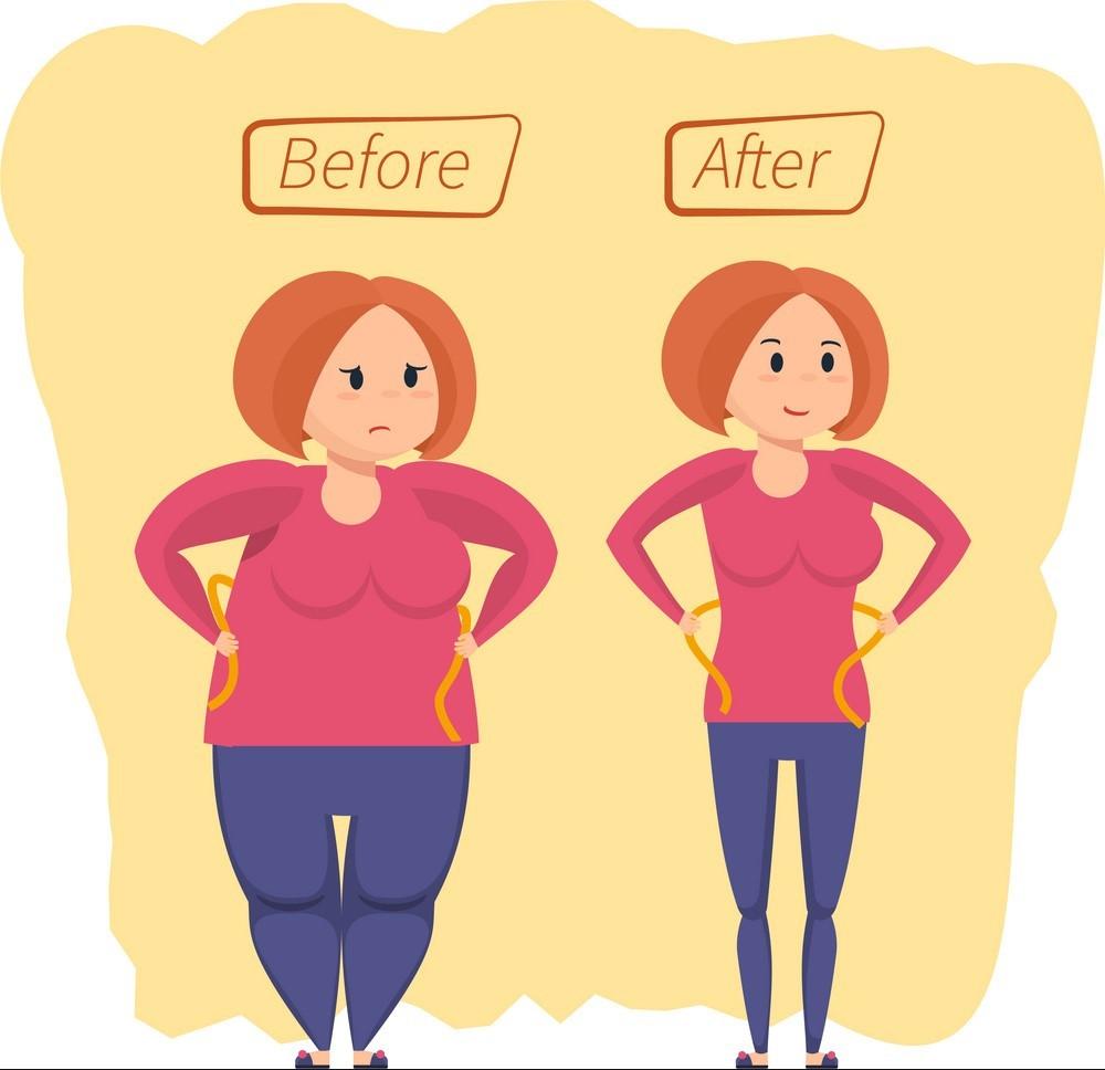 کاهش وزن در طول زمان به تنظیم هورمون های بدن نیز کمک می کند