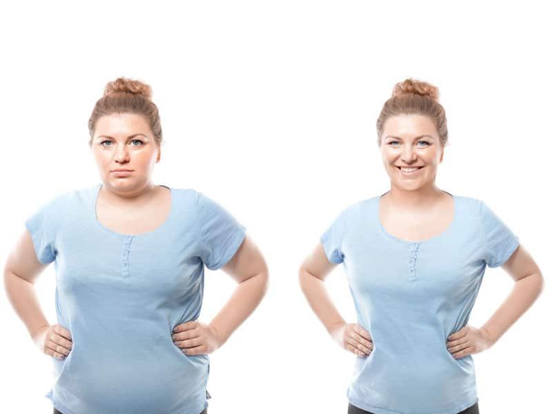 افراد با شاخص توده بدنی بیشتر از 25