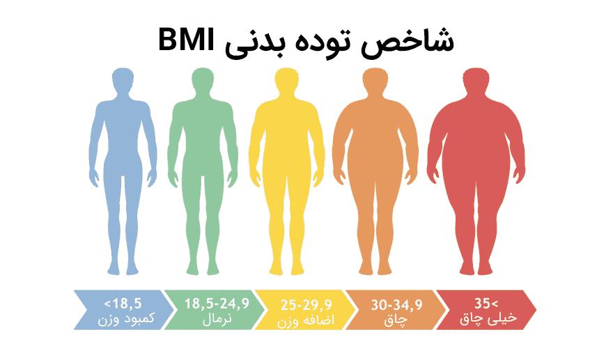 نقش شاخص توده بدنی در سلامت بدن