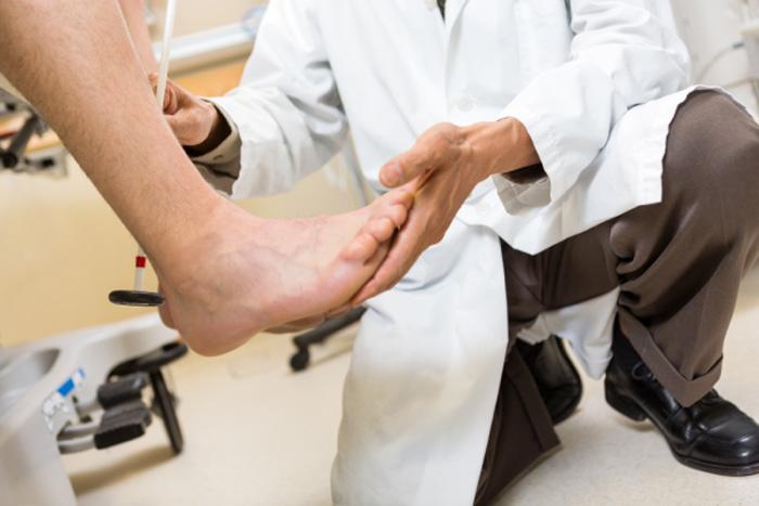 کلینیک زخم پای دیابتی