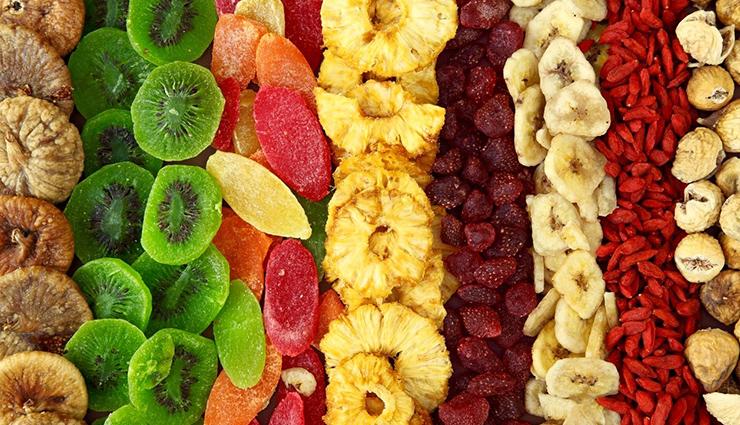 میوه های خشک: